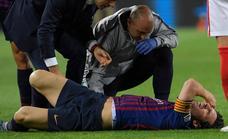 Lionel Messi se fractura el radio y no estará en el Reino de León