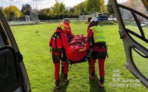 Herido un montañero de 53 años tras caer cinco metros en la canal Sur del Pico Bodón en Valdeteja