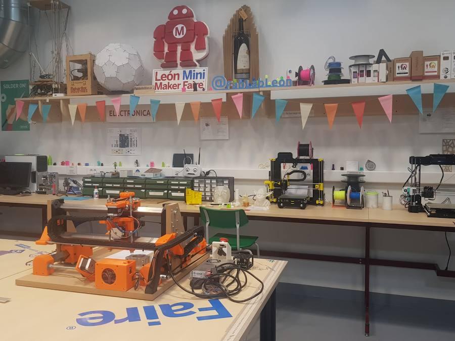 Visita al Fab Lab de León
