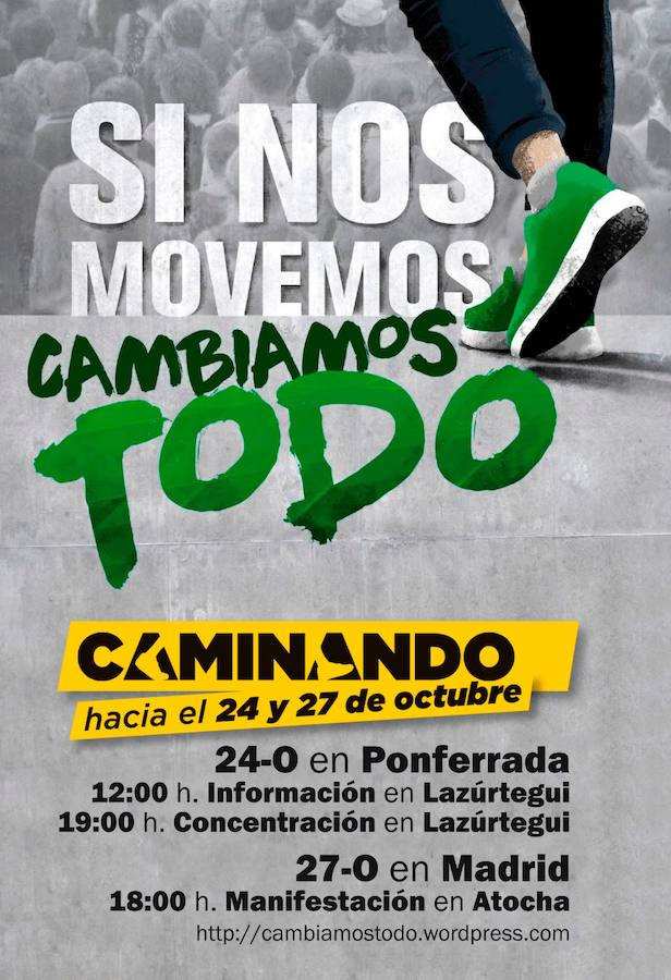 El PCE del Bierzo busca «relanzar la movilización social» con una concentración este miércoles en Ponferrada