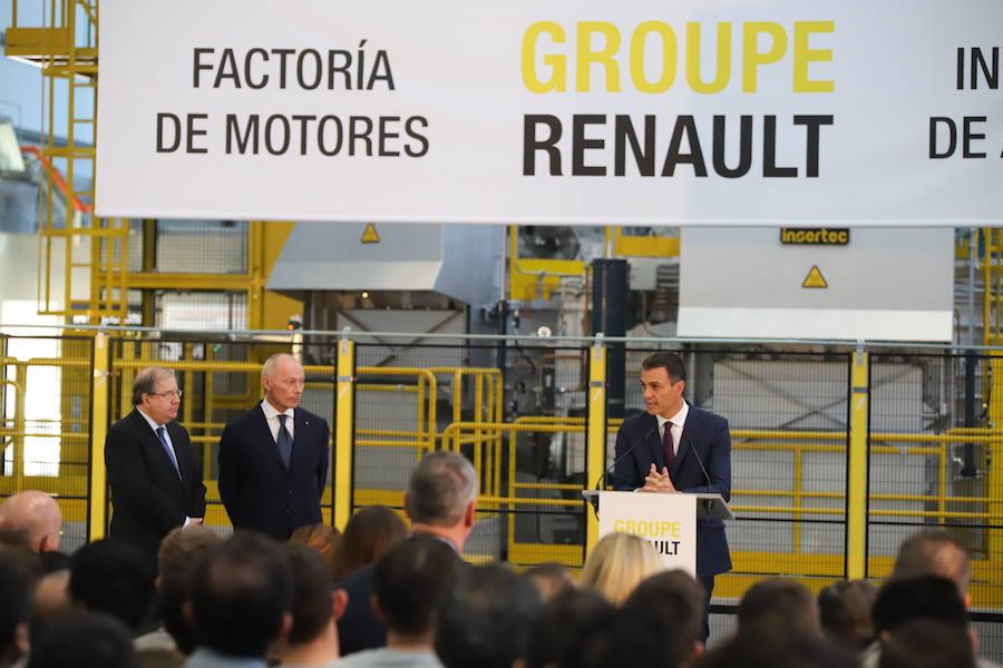 Sánchez anuncia en Valladolid «una estrategia de país» para garantizar el futuro del sector de la automoción