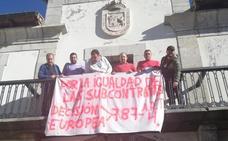 Las subcontratas mineras protestan ante el Ministerio de Transición Ecológica por su no inclusión en el Plan del Carbón