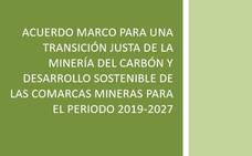 El documento confidencial que traza las líneas maestras para la reconversión de las zonas mineras