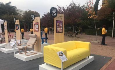 Ikea, en las calles de León