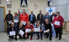 Los Donantes de Sangre distinguen a 43 donantes de la comarca del Órbigo