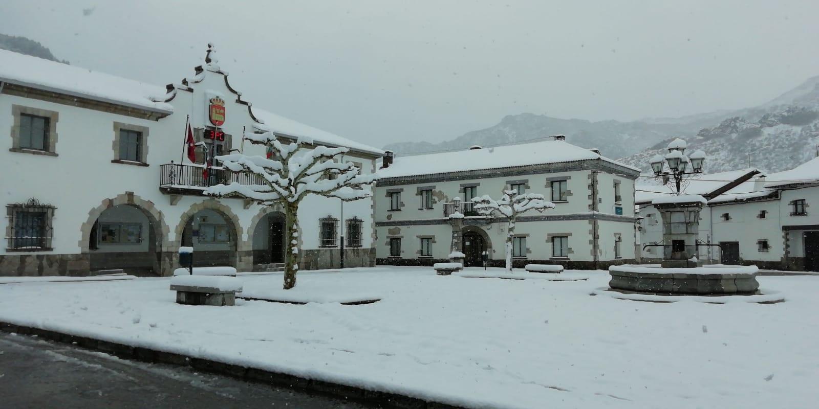 Las imágenes del temporal de nieve en la provincia de León