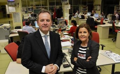 Vicente Vallés, Nieves Concostrina y Ángel Ortiz, en el jurado del XXII Premio Nacional de Periodismo Miguel Delibes
