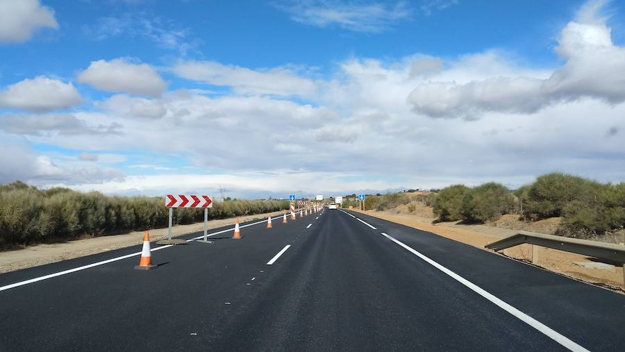 Fomento finaliza la reconstrucción de ocho kilómetros de la A-66
