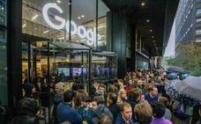 Los trabajadores de Google protestan por la respuesta de la empresa a los casos de acoso sexual