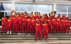 Brillo leonés en el éxito de la selección autonómica junior y joven de boxeo en Béjar