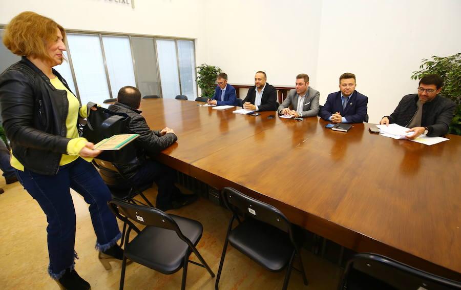 Reunión de la Mesa del Ferrocarril y de la Mesa por el futuro del Bierzo