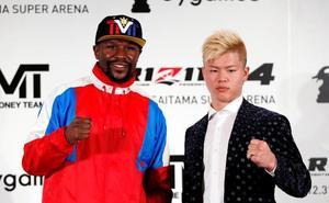 Mayweather peleará con un luchador japonés de kickboxing