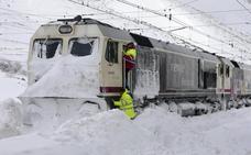 Aemet alerta de espesores de hasta 20 centímetros de nieve en zonas de montaña