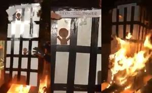 Cinco detenidos por un vídeo ofensivo sobre el incendio de la torre Grenfell de Londres