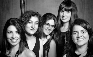 El Teatro Albéitar ofrece una actuación del quinteto de viento 'O Globo'