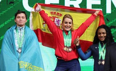 Lydia Valentín: «Tenía molestias pero he ganado, estoy superfeliz. Ahora, a disfrutar»