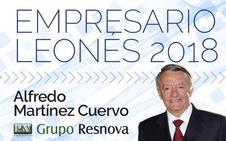 La Fele entregará el Empresario Leonés del Año 2018 a Alfredo Martínez Cuervo el 22 de noviembre