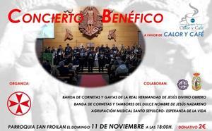 Las bandas de Semana Santa organizan un concierto solidario en favor de San Vicente de Paúl