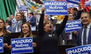 Boicot de la derecha latina a Maduro