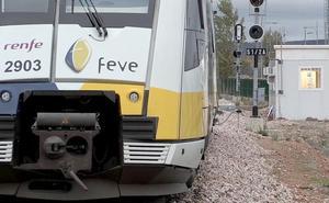 24 horas después de anunciar una inversión de 55 millones todos los trenes de Feve dejan de funcionar en León