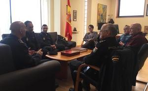 Camino Cabañas pone en valor la colaboración entre los cuerpos de policía para hacer de San Andrés un «municipio seguro»