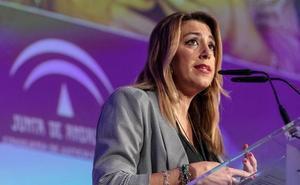 Susana Díaz acusa al PP de someterla a un «juicio político» en el Senado