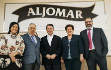 Los fundadores de Jamones Aljomar, XVII Premio Familia Empresaria de Castilla y León