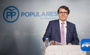 Mañueco destaca que el PP es el único que defiende «con políticas concretas» al mundo rural frente al PSOE «que no se compromete»