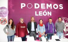 Podemos pide a León «rugir» en el 15-N para reclamar un futuro «cercenado por la Junta»