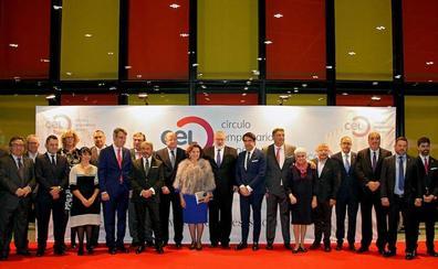 Manuel Rilo recoge «emocionado y orgulloso» el Círculo de Oro 2018 del CEL y llama a emprender en la provincia de León