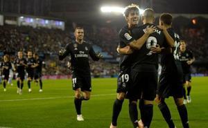 Benzema ilumina al Real Madrid en Balaídos