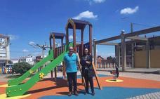 Santa Maria del Páramo finaliza las obras del nuevo parque infantil situado en la Plaza del Labrador