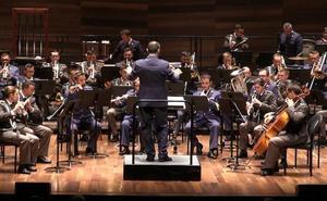 La entrega a España, en notas musicales