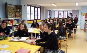 Los alumnos de La Asunción visitan la Biblioteca Pública de León