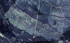 El uso de drones destapa en León el mayor complejo minero de oro romano de Europa