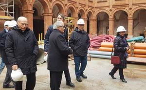 El Museo de la Semana Santa se abre a la provincia y la Diputación da 200.000 euros para la fachada principal