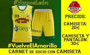 Basket León quiere «teñir de amarillo» el Palacio