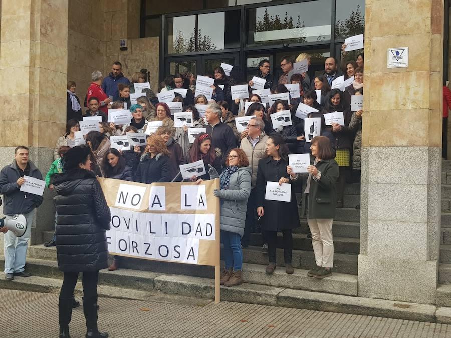 Concentración en los Juzgados de León