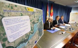 El Gobierno invertirá más de 95,4 millones en la modernización de casi 12.000 hectáreas de regadío en Castilla y León