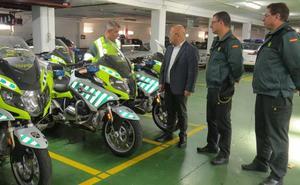 El subdelegado del Gobierno visita la Comandancia de la Guardia Civil de León