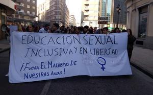 «Fuera el machismo de las aulas»