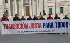 USO pide en el Congreso «igualdad» para los trabajadores de las contratas mineras en el Plan del Carbón