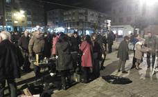 Día de castañas y música en Veguellina de Órbigo