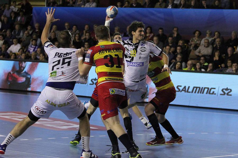 Partido de Liga de Campeones en León