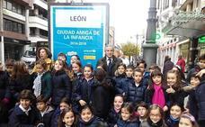 Unicef amplía el reconocimiento de León como 'Ciudad amiga de la Infancia' hasta el año 2022
