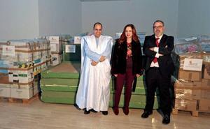 Castilla y León envía material educativo, didáctico e informático a los niños saharauis de Tinduf