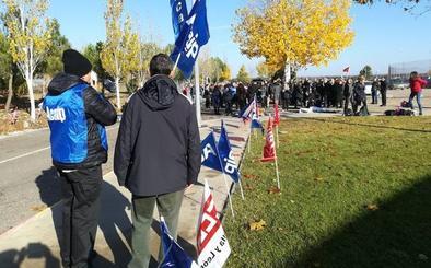 Seguimiento «total» en la huelga de funcionarios en las ocho prisiones de Castilla y León