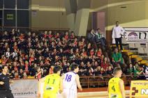 Partido de baloncesto en León