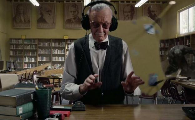 Stan Lee, en 'The Amazing Spider-Man'.