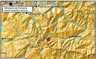 Detectado un terremoto de magnitud 2,9 en las proximidades de la localidad de Encinedo